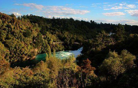 Recorriendo la Whanganui River Road, Nueva Zelanda