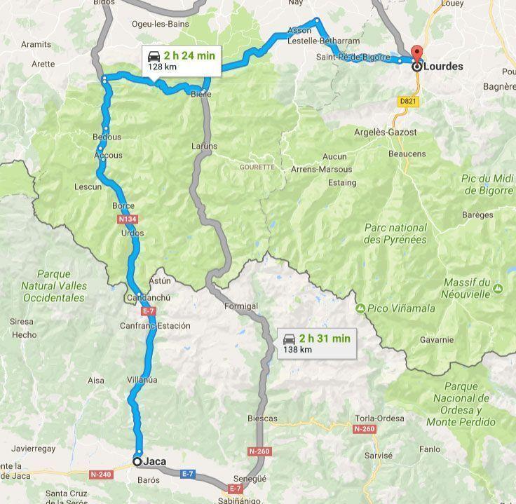 Excursión de día a Lourdes