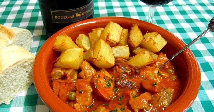 Carcamusas, plato típico de Toledo