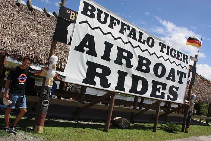 Empresa Buffalo Tiger para visitar los Everglades