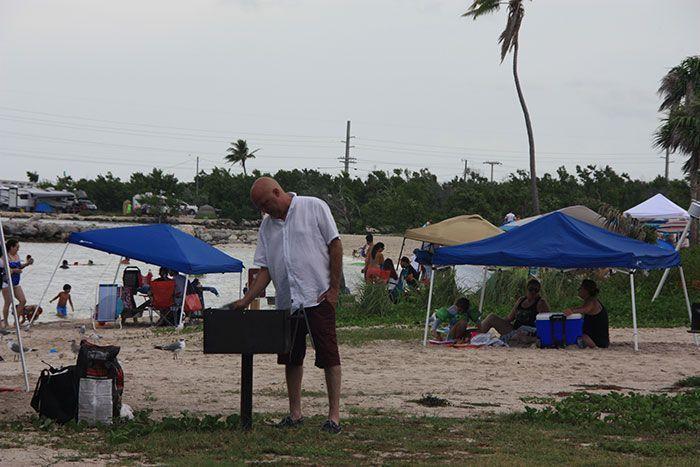 Barbacoas en Bahia Honda
