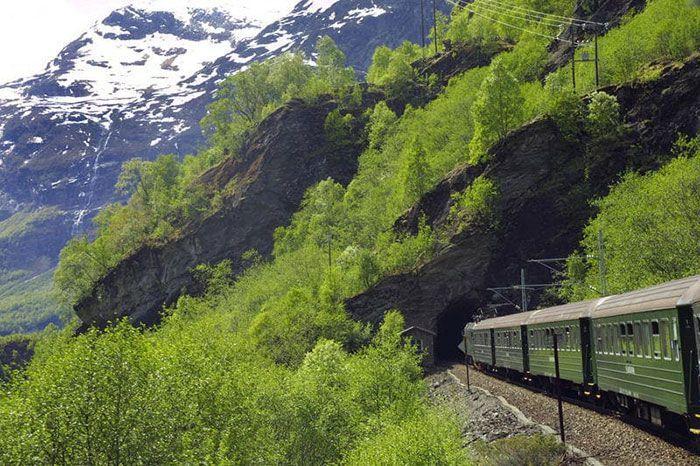 El famoso tren de Flam