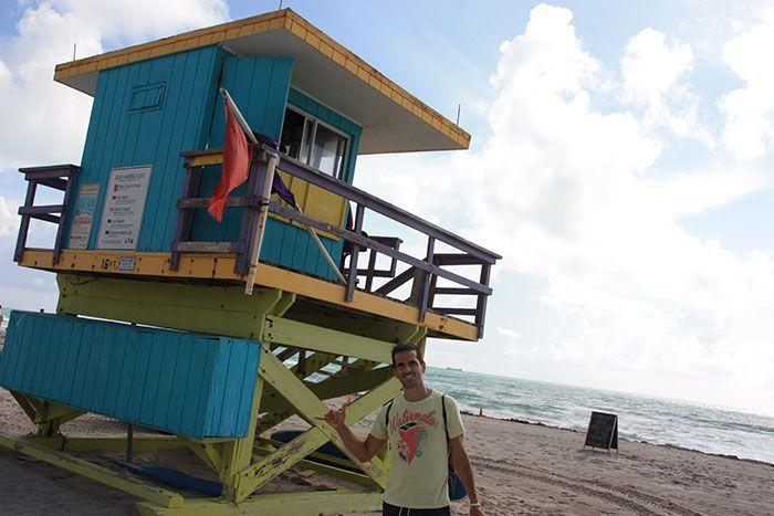 Las casitas de los vigilantes de Miami Beach molan!