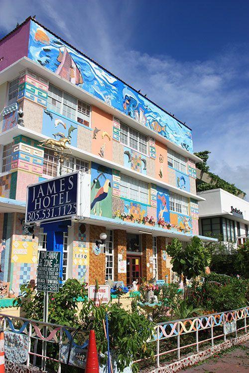 James Hotel, espectacular hotel en Miami Beach