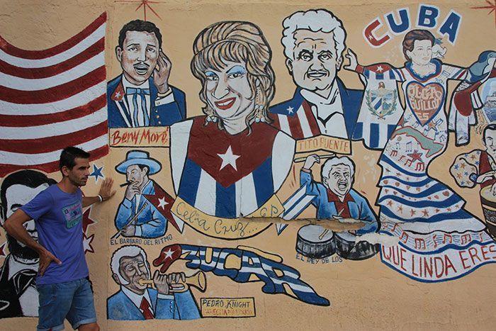Mural en little habana