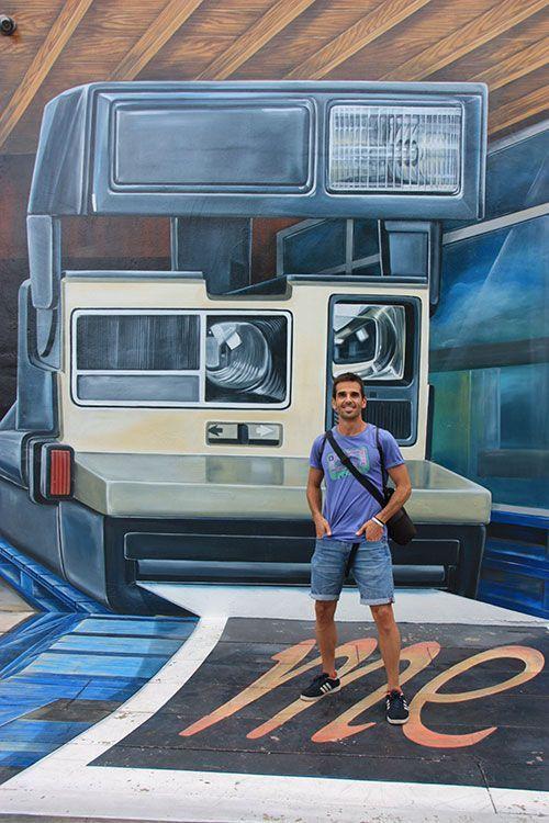 Mural en Wynwood Arts District