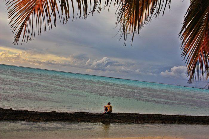 Pensando y difrutando del paraíso