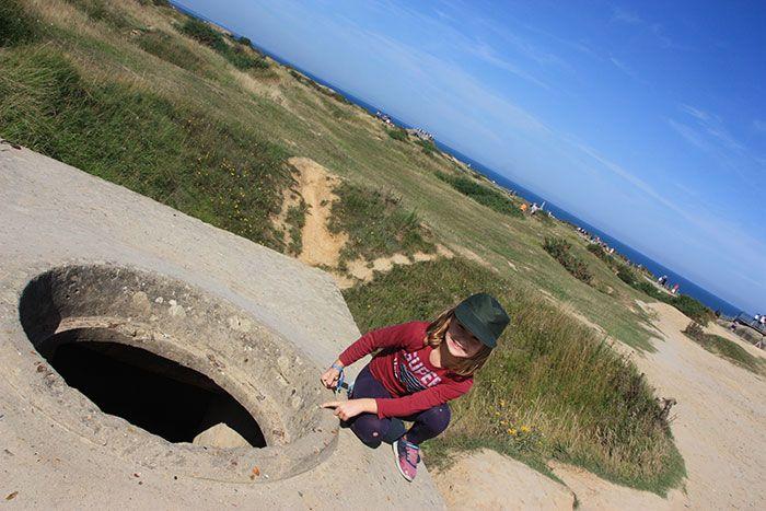 Bunker en Le Pointe du Hoc