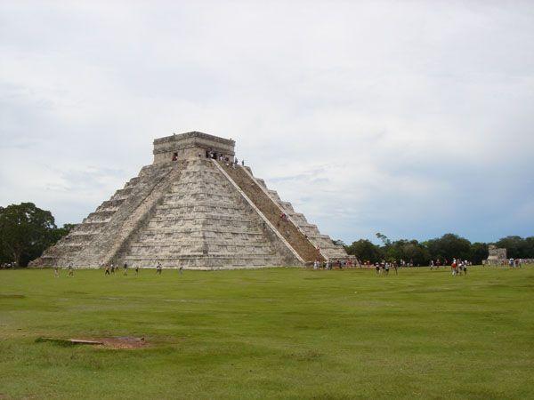 La pirámide de Chichén Itzá