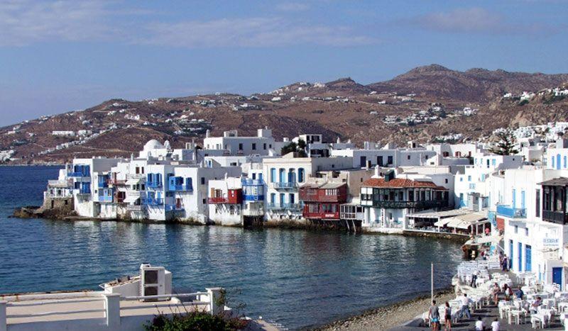 La Isla de Mykonos