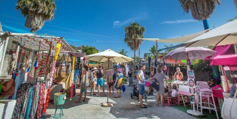 Mercadillo Las Dalias Ibiza