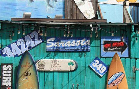 Tienda de surf en Siesta Key