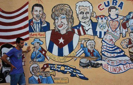 Mural en el barrio little Habana de Miami