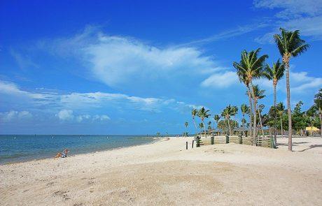 Espectacular panorámica de Sombrero beach