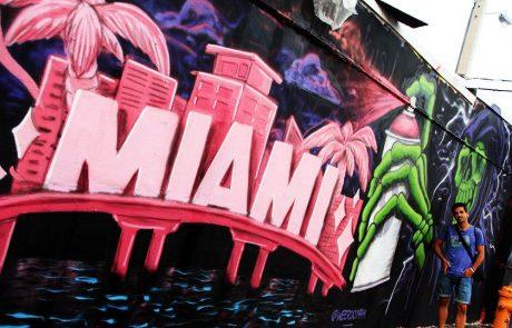 Graffiti Miami en Wynwood Arts district