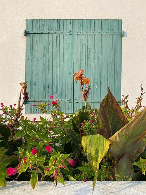 Bonito balcón en Saintes-Maries de la mer