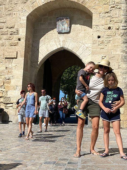 Puerta de entrada a la ciudad de Aigues-Mortes